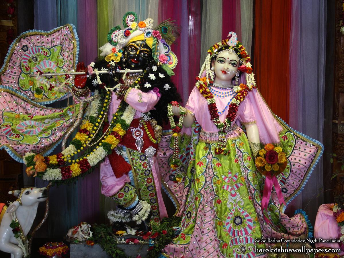 Sri Sri Radha Govind Wallpaper (038) Size 1200x900 Download