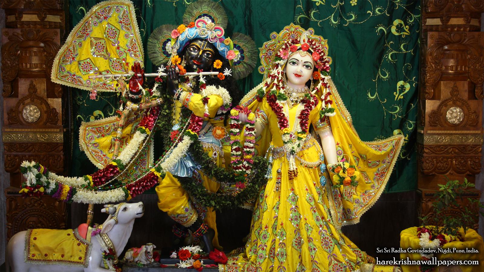 Sri Sri Radha Govind Wallpaper (041) Size 1600x900 Download