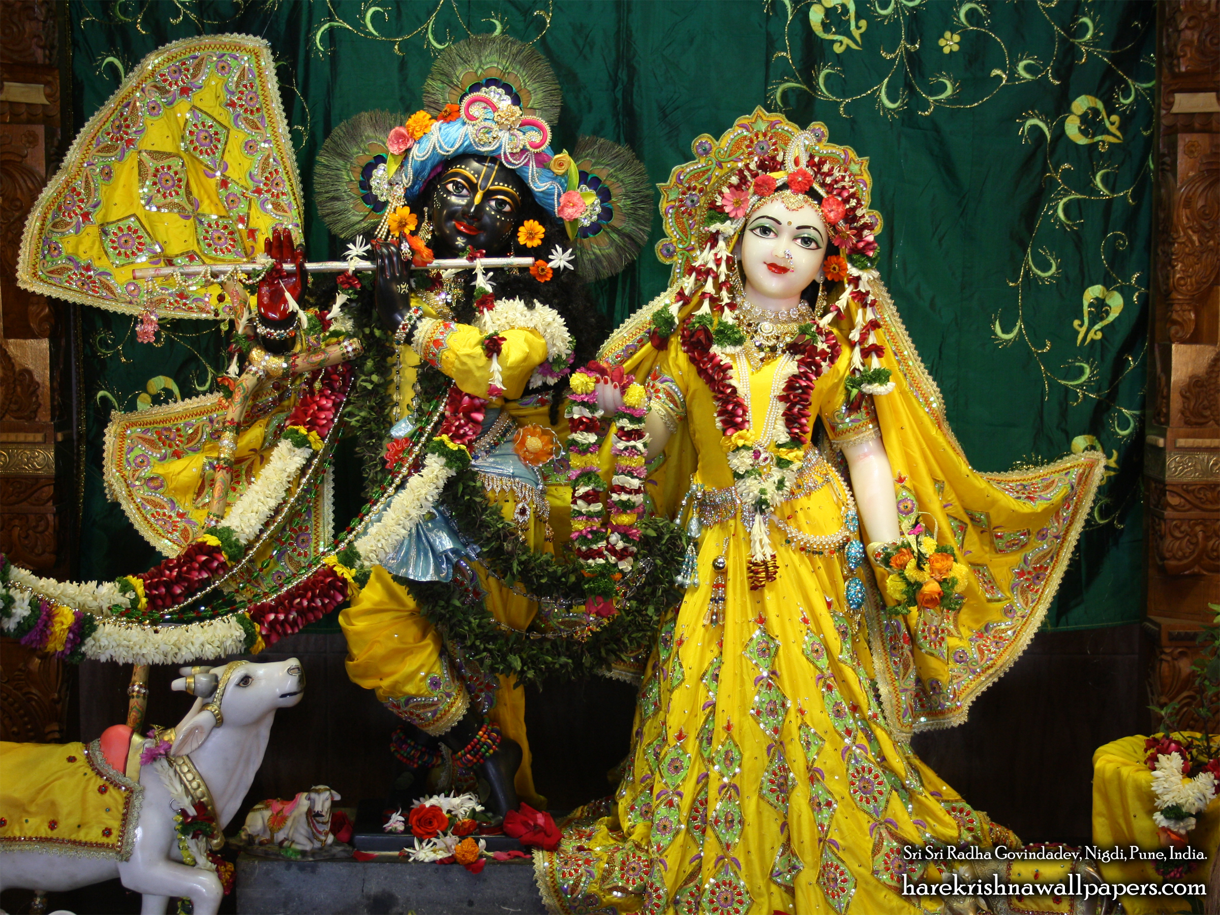 Sri Sri Radha Govind Wallpaper (041) Size 2400x1800 Download