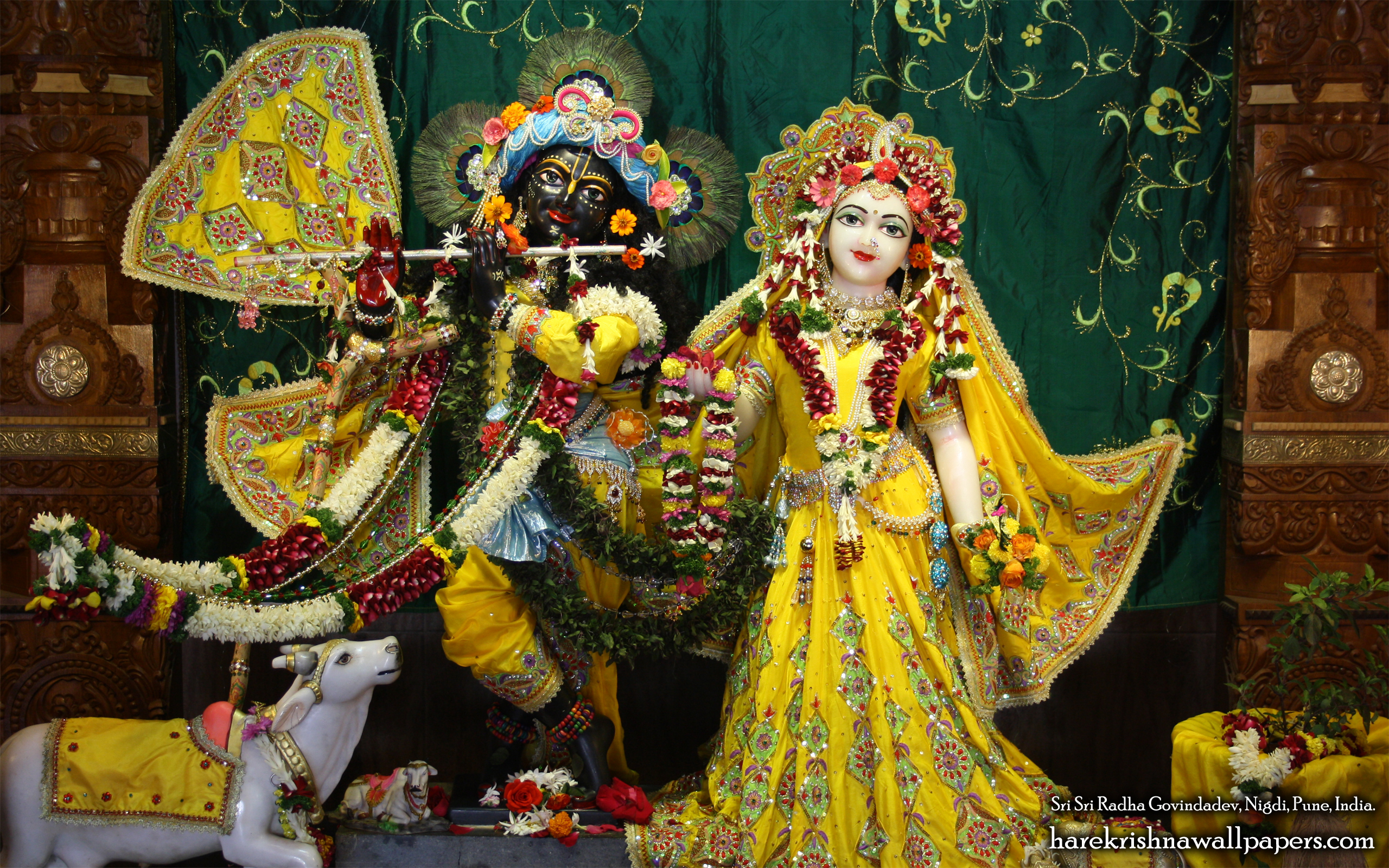 Sri Sri Radha Govind Wallpaper (041) Size 2560x1600 Download