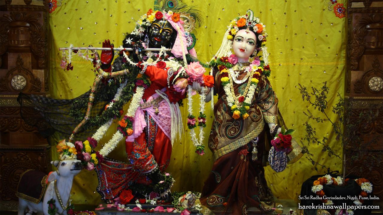Sri Sri Radha Govind Wallpaper (043) Size 1280x720 Download