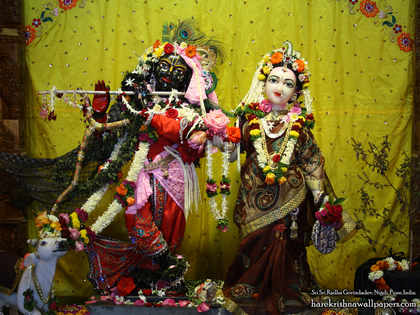 Sri Sri Radha Govind Wallpaper (043) Size 1400x1050 Download
