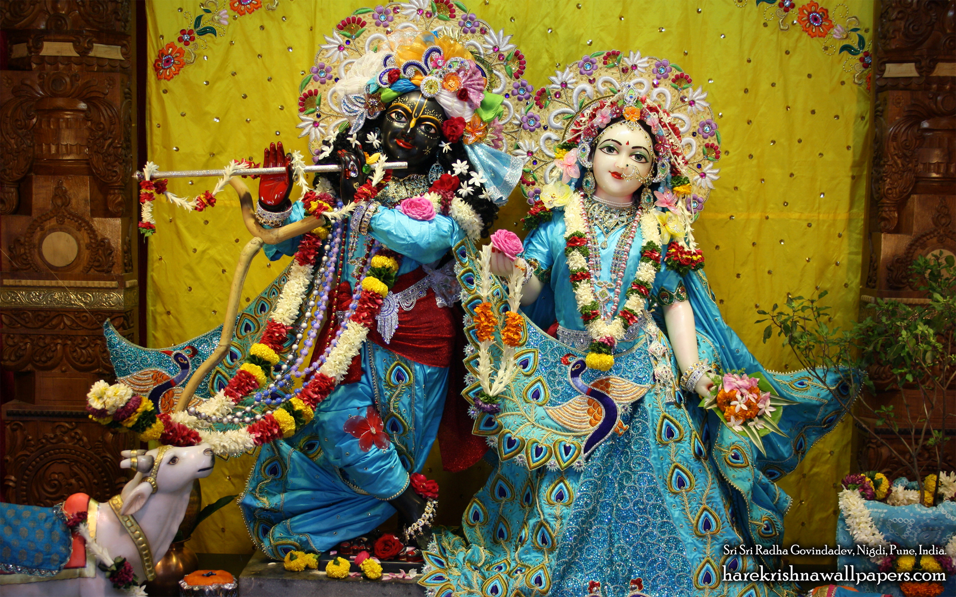 Sri Sri Radha Govind Wallpaper (044) Size 1920x1200 Download