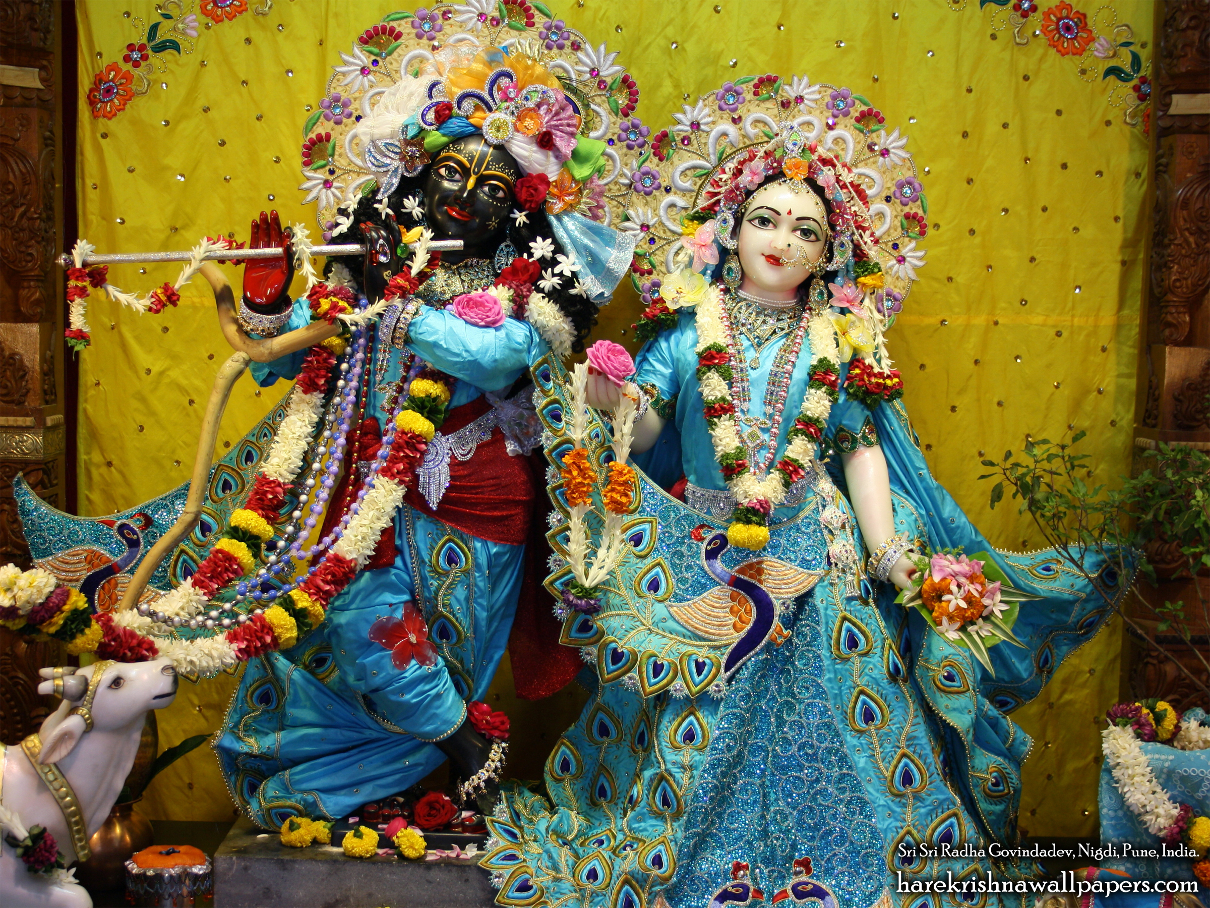Sri Sri Radha Govind Wallpaper (044) Size 2400x1800 Download