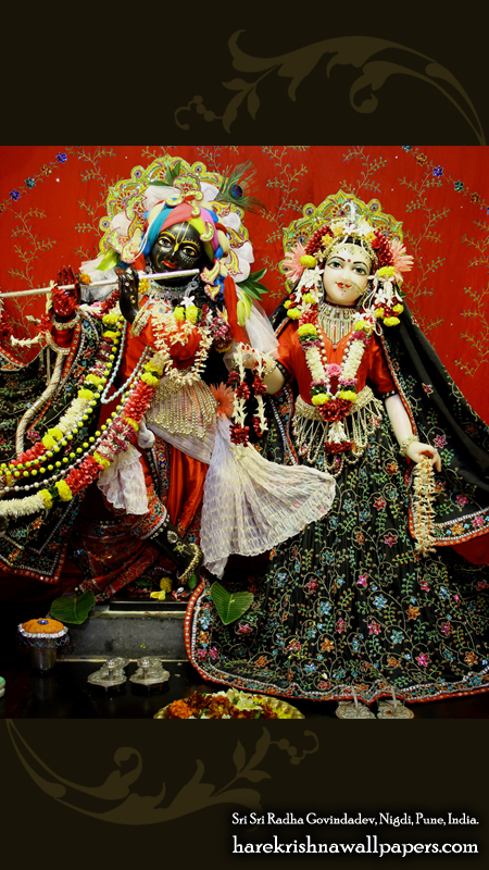 Sri Sri Radha Govind Wallpaper (045) Size 450x800 Download