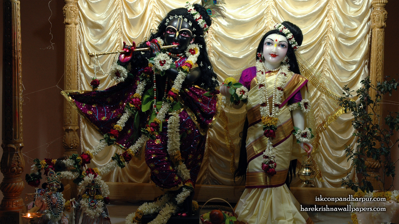 Sri Sri Radha Pandharinath Wallpaper (001) Size1280x720 Download