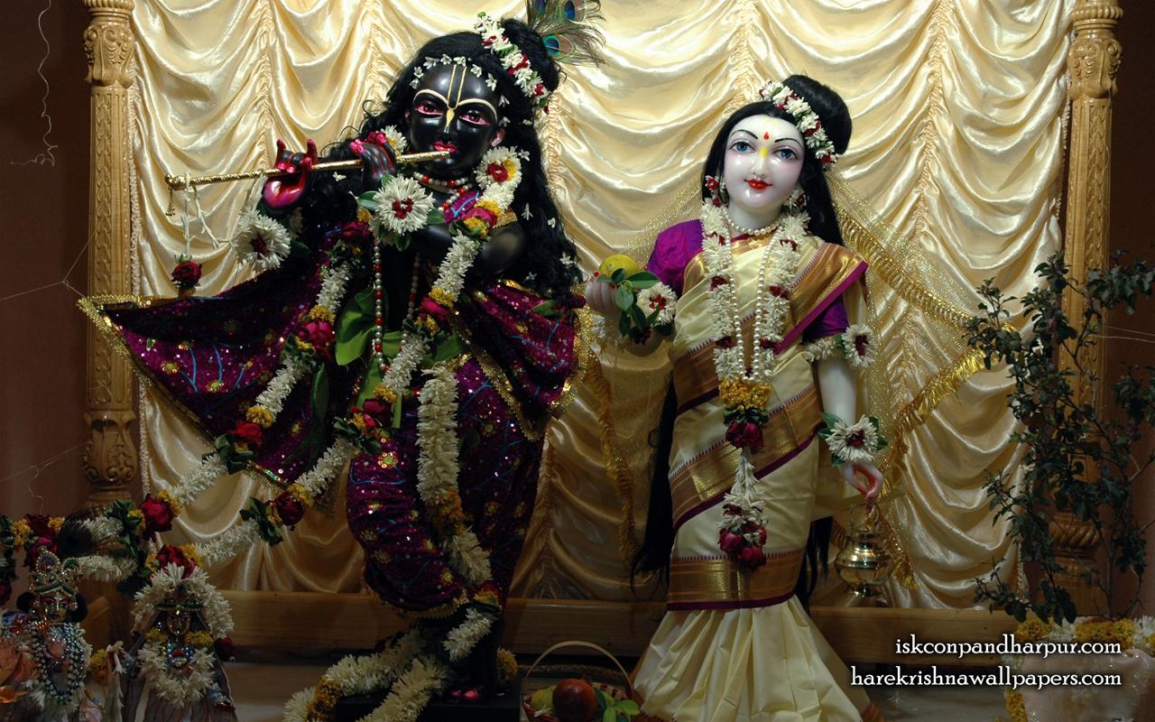 Sri Sri Radha Pandharinath Wallpaper (001) Size 1280x800 Download