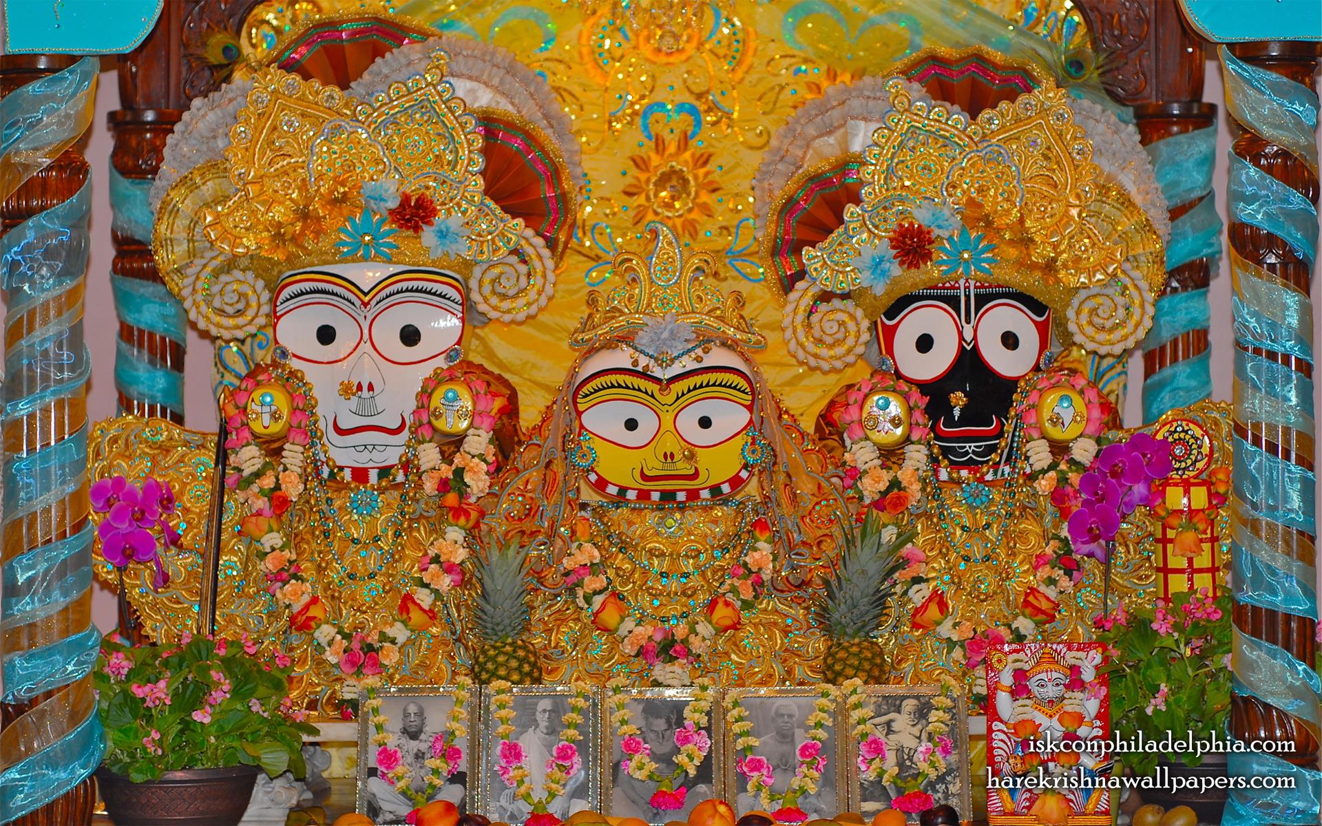 Jagannath Baladeva Subhadra Wallpaper (001) Size 1920x1200 Download