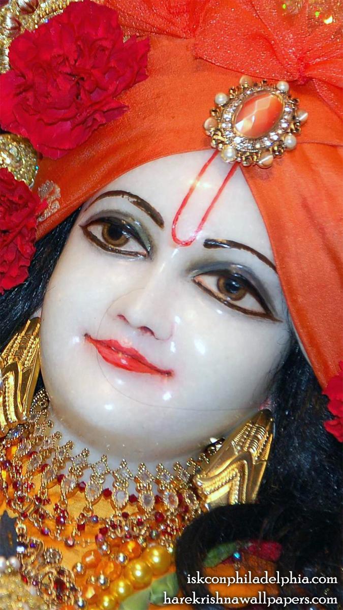 Sri Krishna Close up Wallpaper (001) Size 675x1200 Download