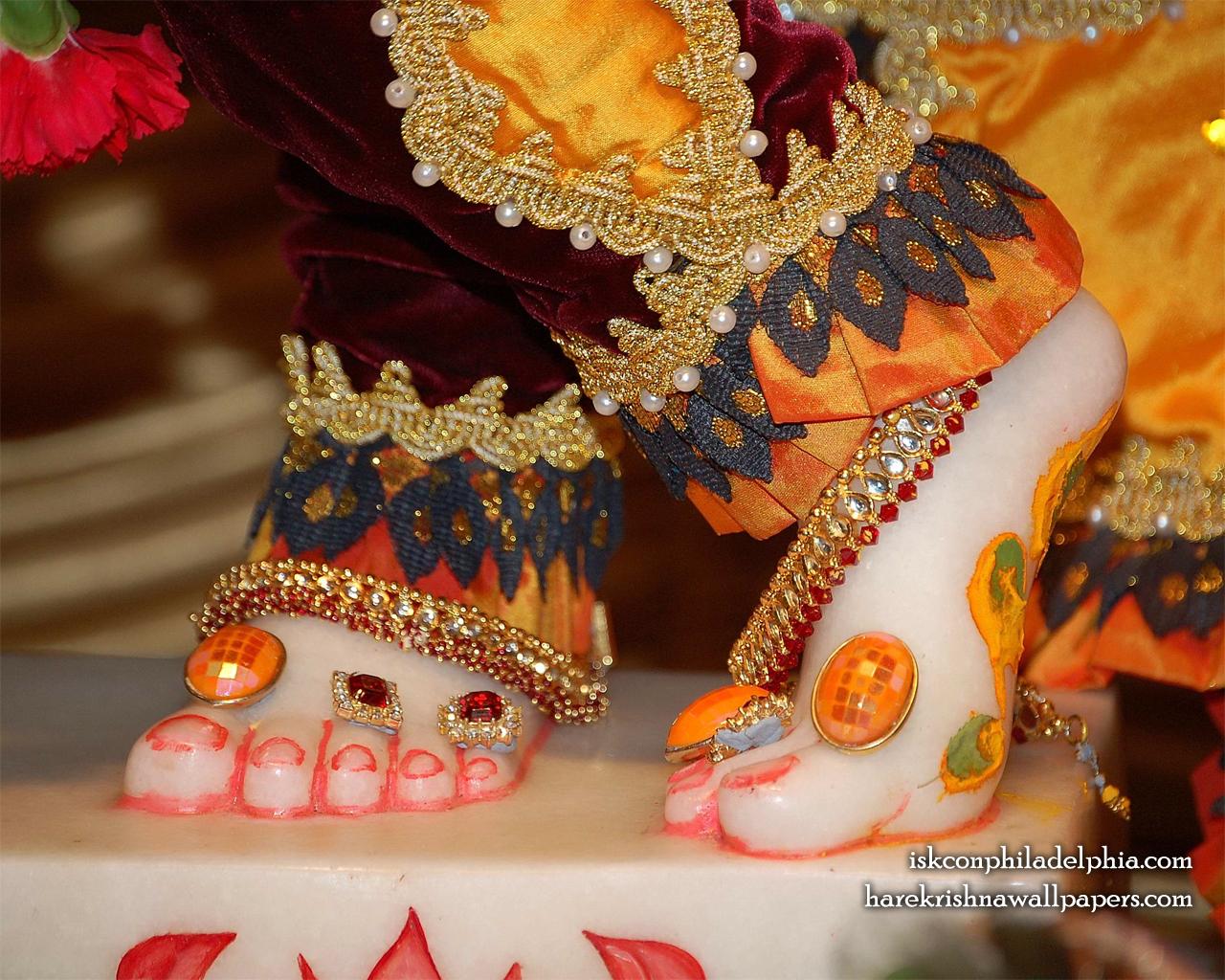 Sri Krishna Feet Wallpaper (001) Size 1280x1024 Download