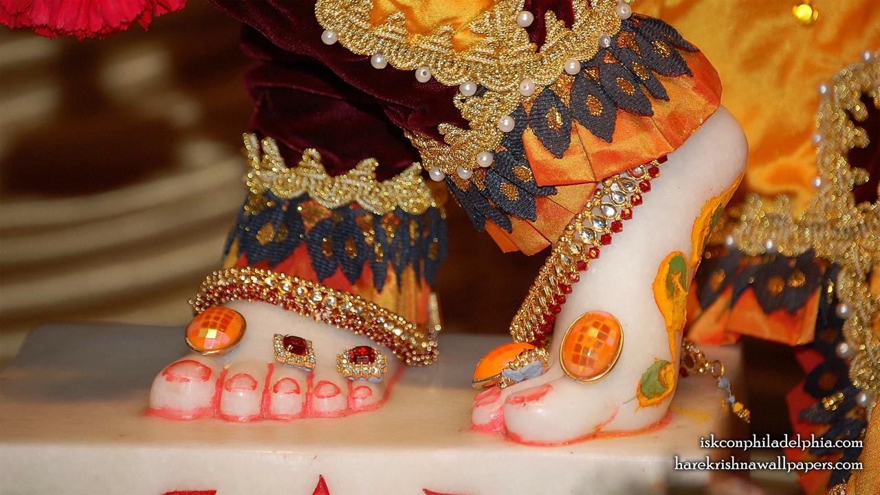 Sri Krishna Feet Wallpaper (001) Size 1280x720 Download