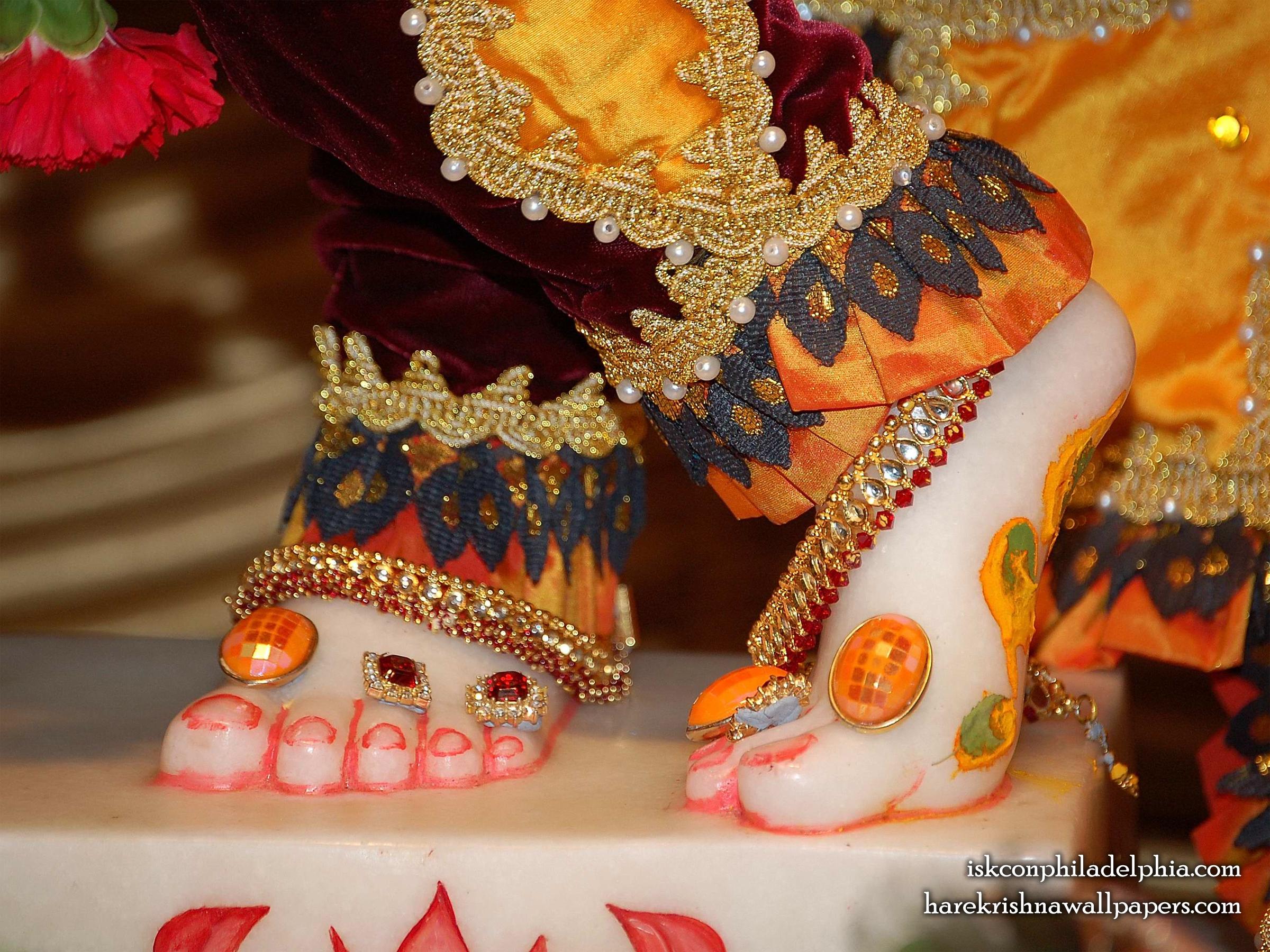 Sri Krishna Feet Wallpaper (001) Size 2400x1800 Download