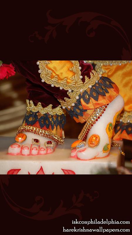 Sri Krishna Feet Wallpaper (001) Size 450x800 Download