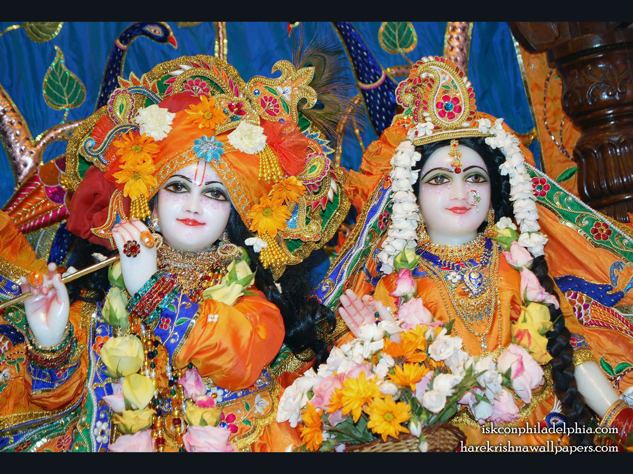 Sri Sri Radha Krishna Close up Wallpaper (001) Size 1280x960 Download
