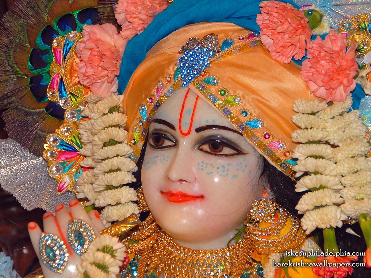 Sri Krishna Close up Wallpaper (002) Size 1200x900 Download