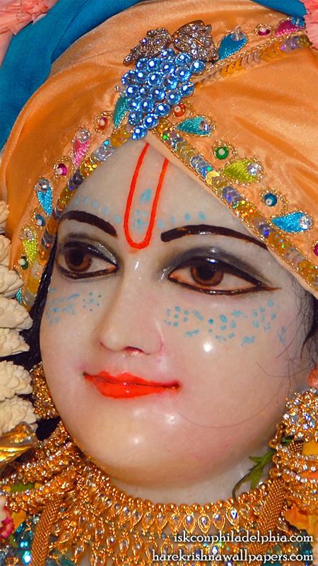 Sri Krishna Close up Wallpaper (002) Size 450x800 Download