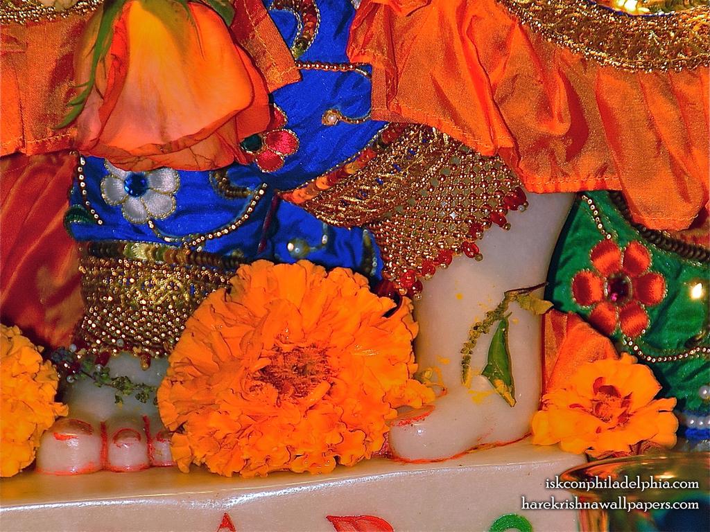 Sri Krishna Feet Wallpaper (002) Size 1024x768 Download