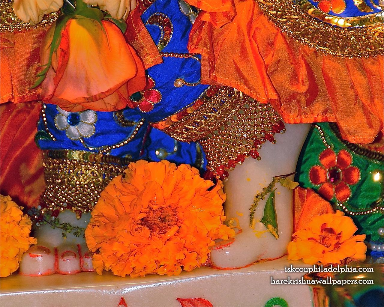 Sri Krishna Feet Wallpaper (002) Size 1280x1024 Download