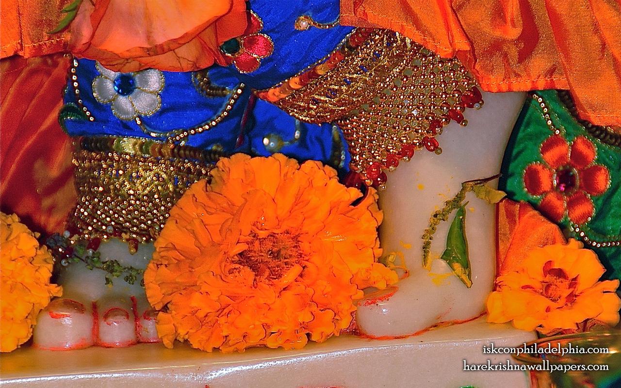 Sri Krishna Feet Wallpaper (002) Size 1280x800 Download