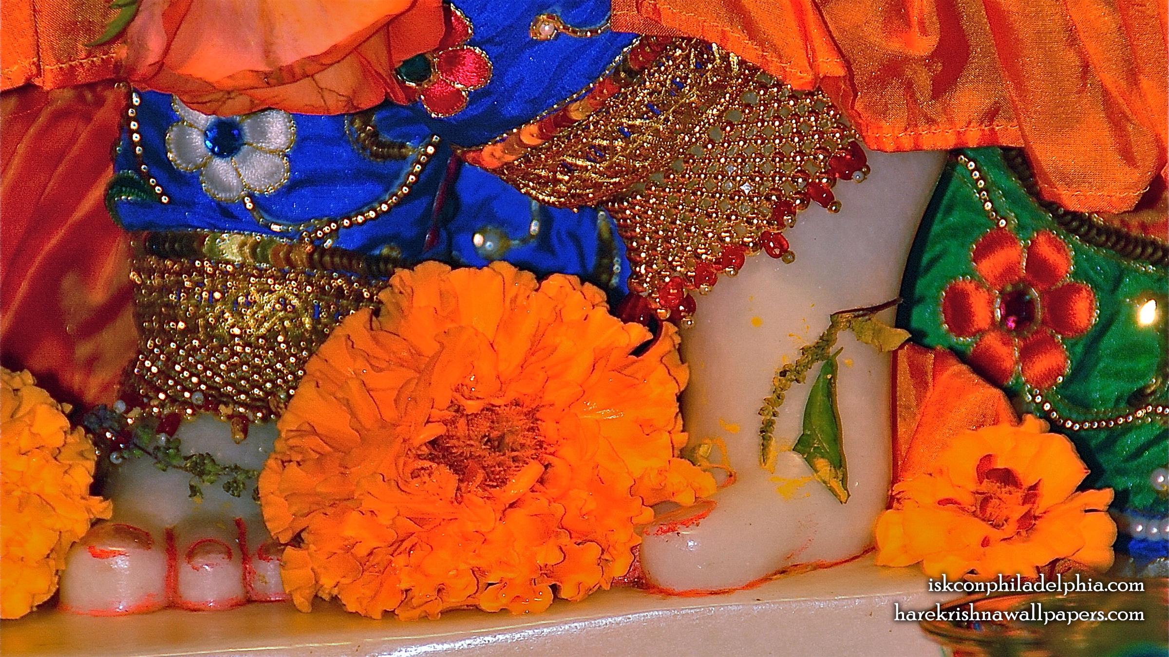 Sri Krishna Feet Wallpaper (002) Size 2400x1350 Download