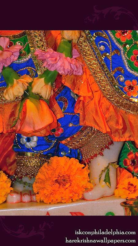 Sri Krishna Feet Wallpaper (002) Size 450x800 Download