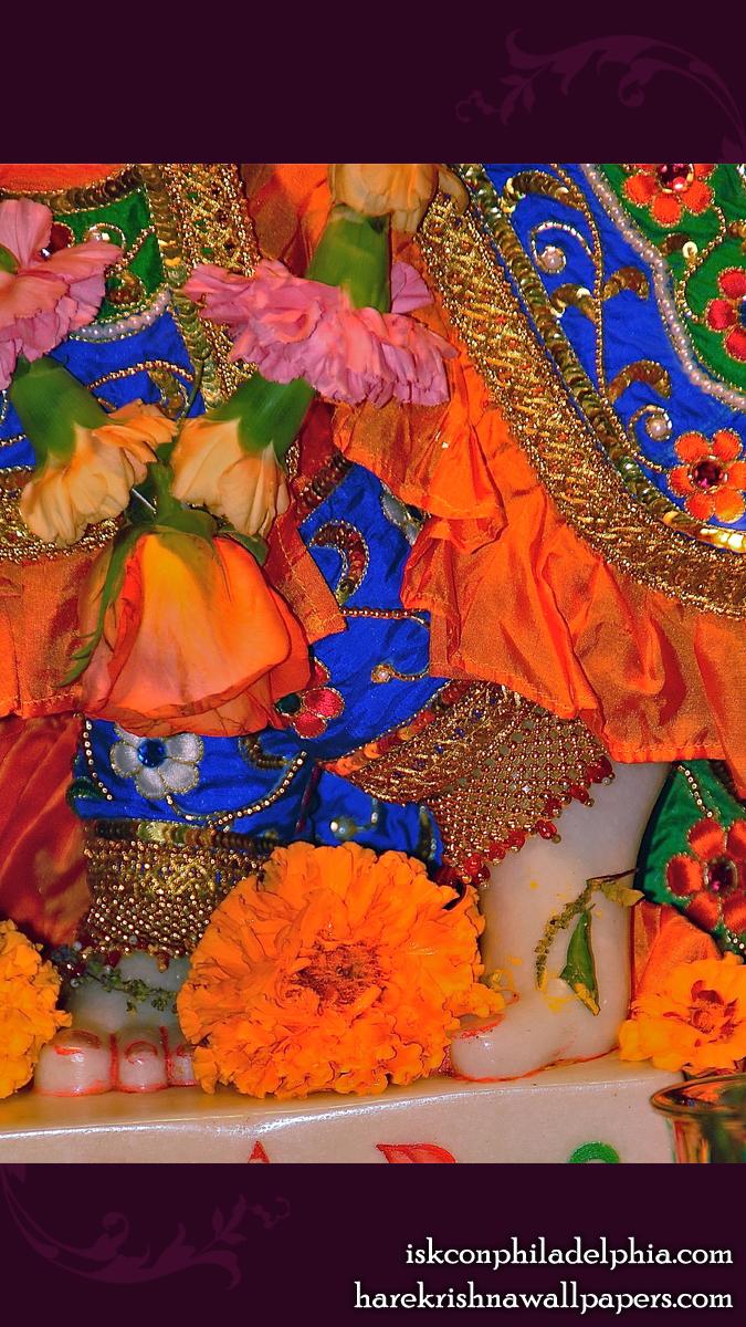 Sri Krishna Feet Wallpaper (002) Size 675x1200 Download