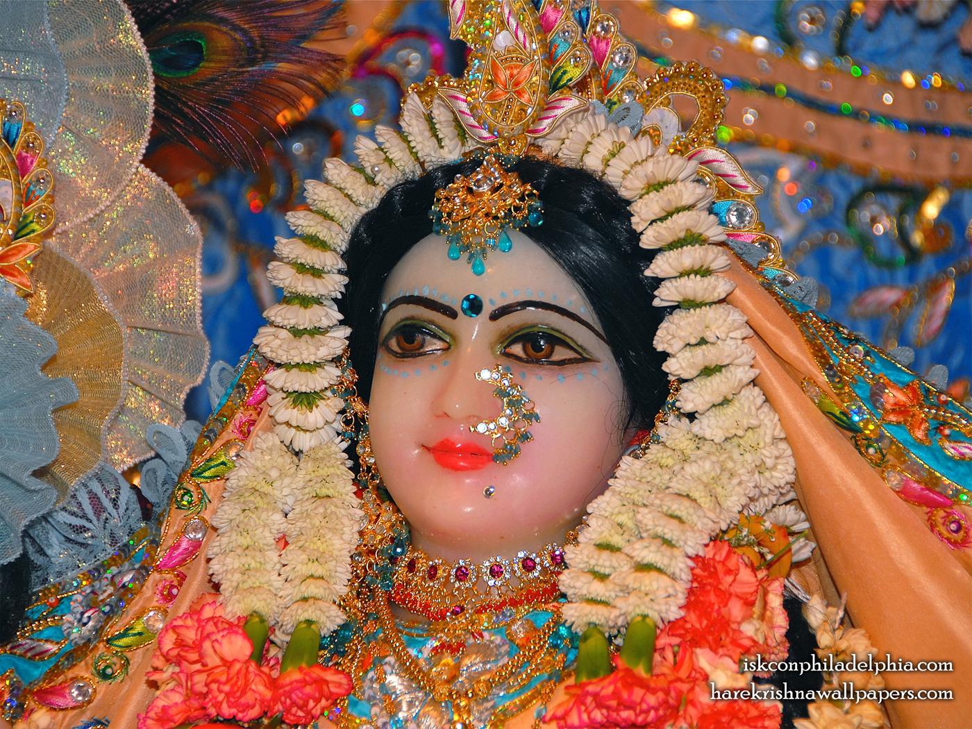 Sri Radha Close up Wallpaper (002) Size 1400x1050 Download