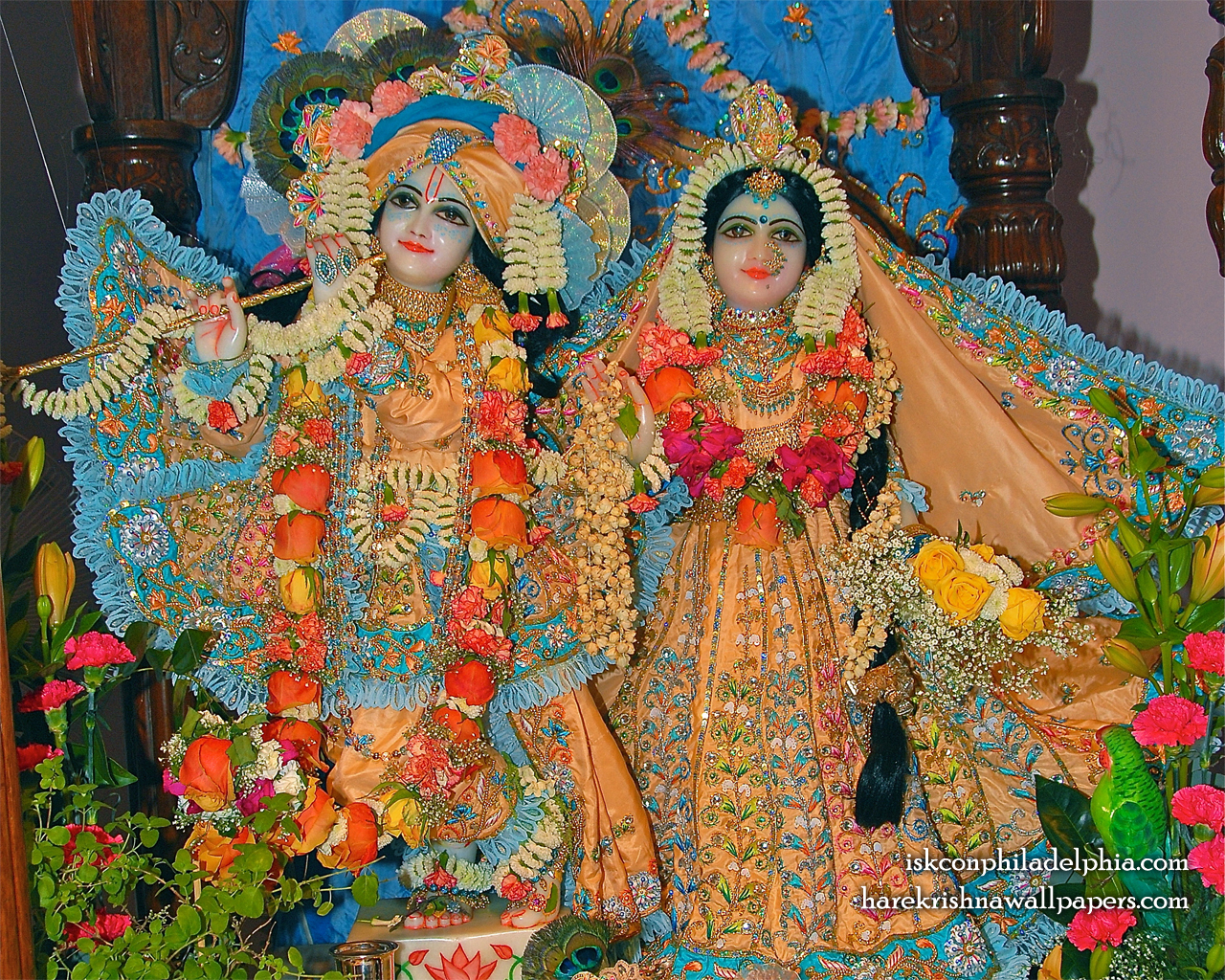 Sri Sri Radha Krishna Wallpaper (002) Size 1280x1024 Download