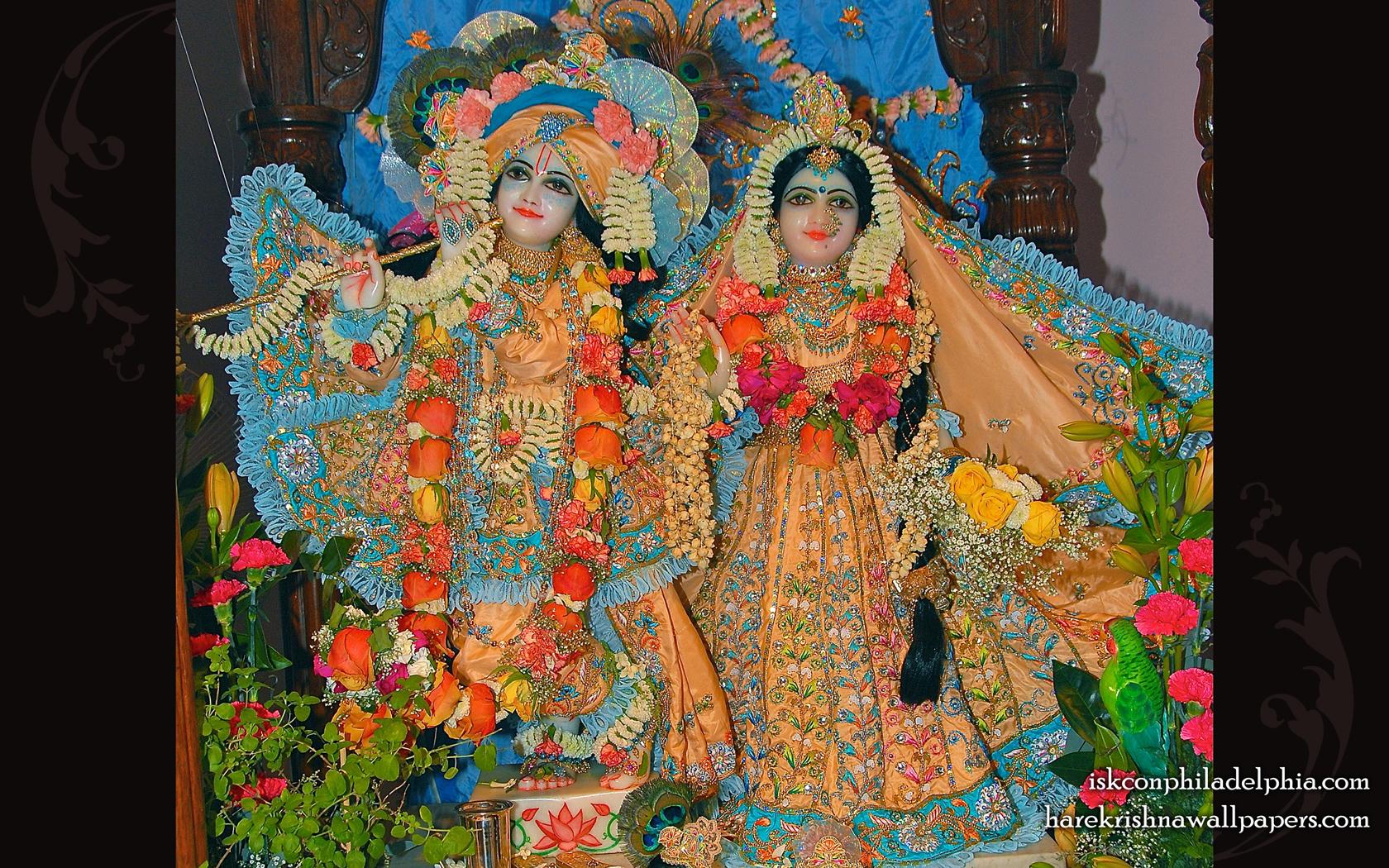 Sri Sri Radha Krishna Wallpaper (002) Size 1680x1050 Download