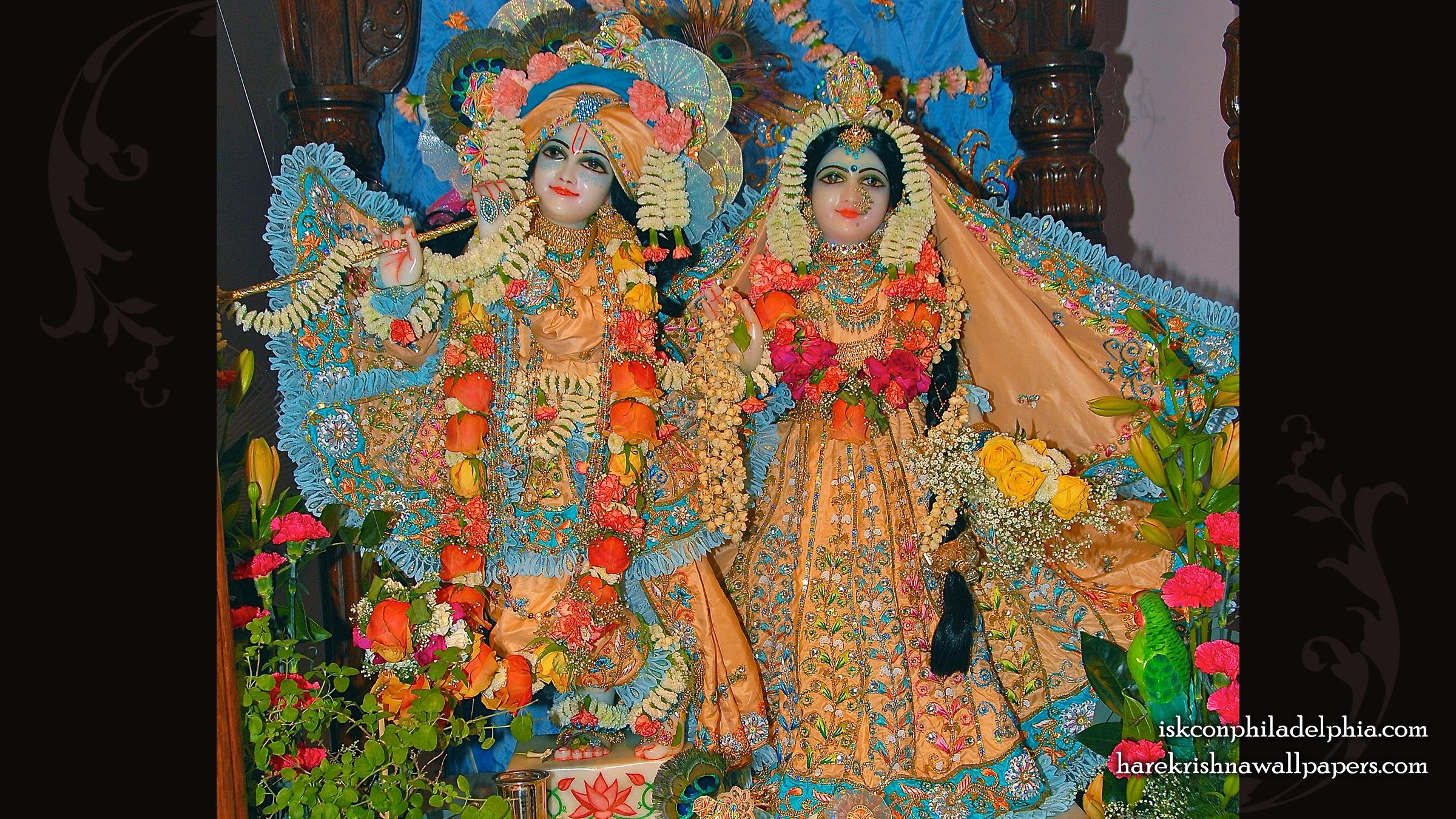 Sri Sri Radha Krishna Wallpaper (002) Size 2400x1350 Download