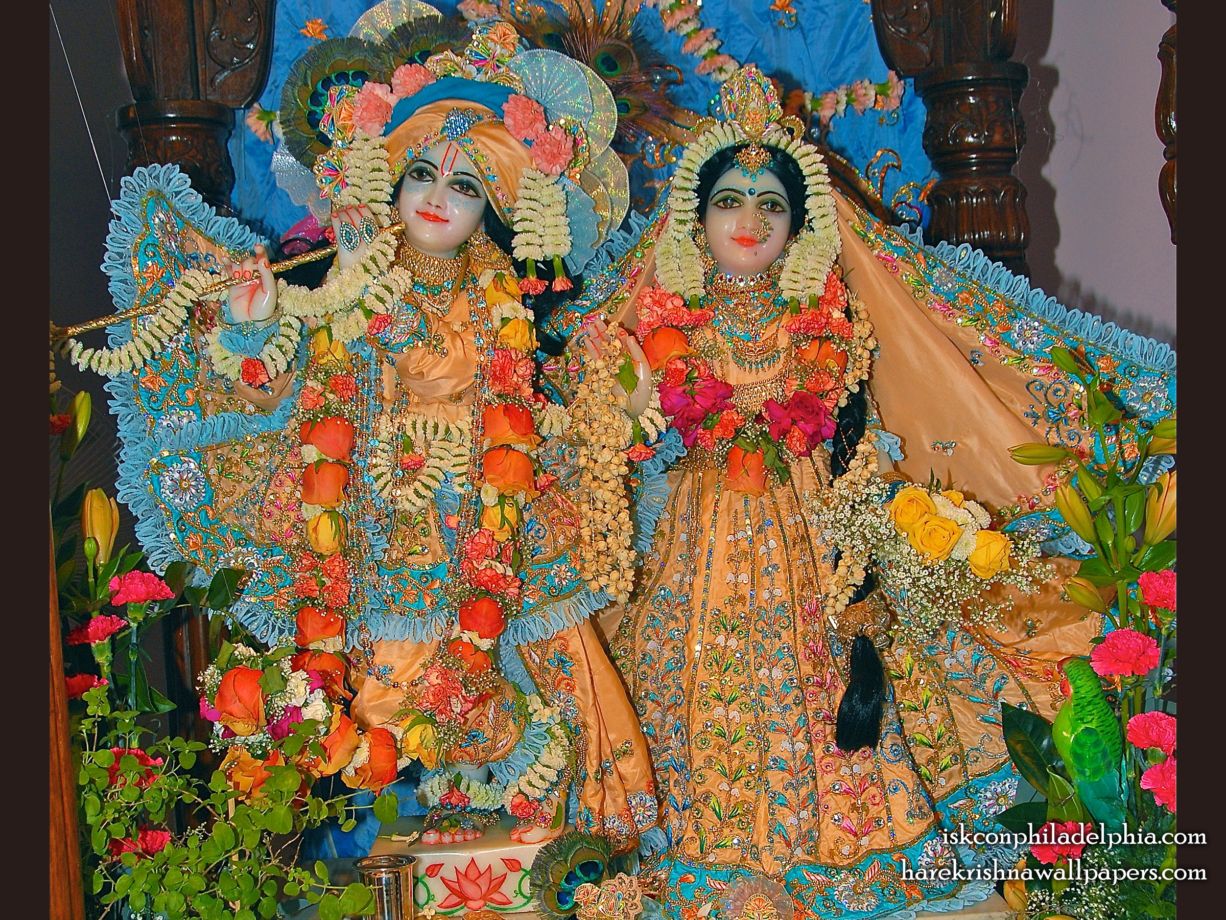 Sri Sri Radha Krishna Wallpaper (002) Size 2400x1800 Download