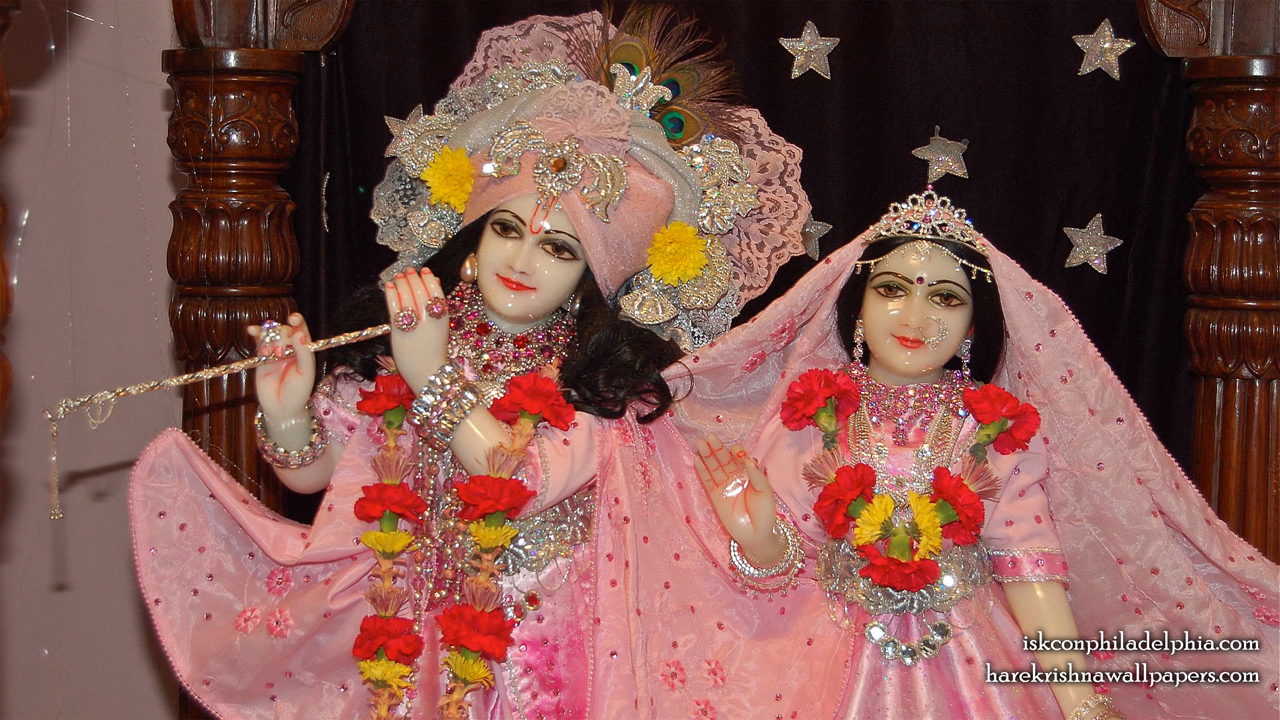 Sri Sri Radha Krishna Close up Wallpaper (002) Size 1280x720 Download
