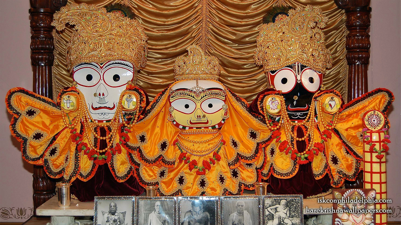Jagannath Baladeva Subhadra Wallpaper (003) Size 1280x720 Download