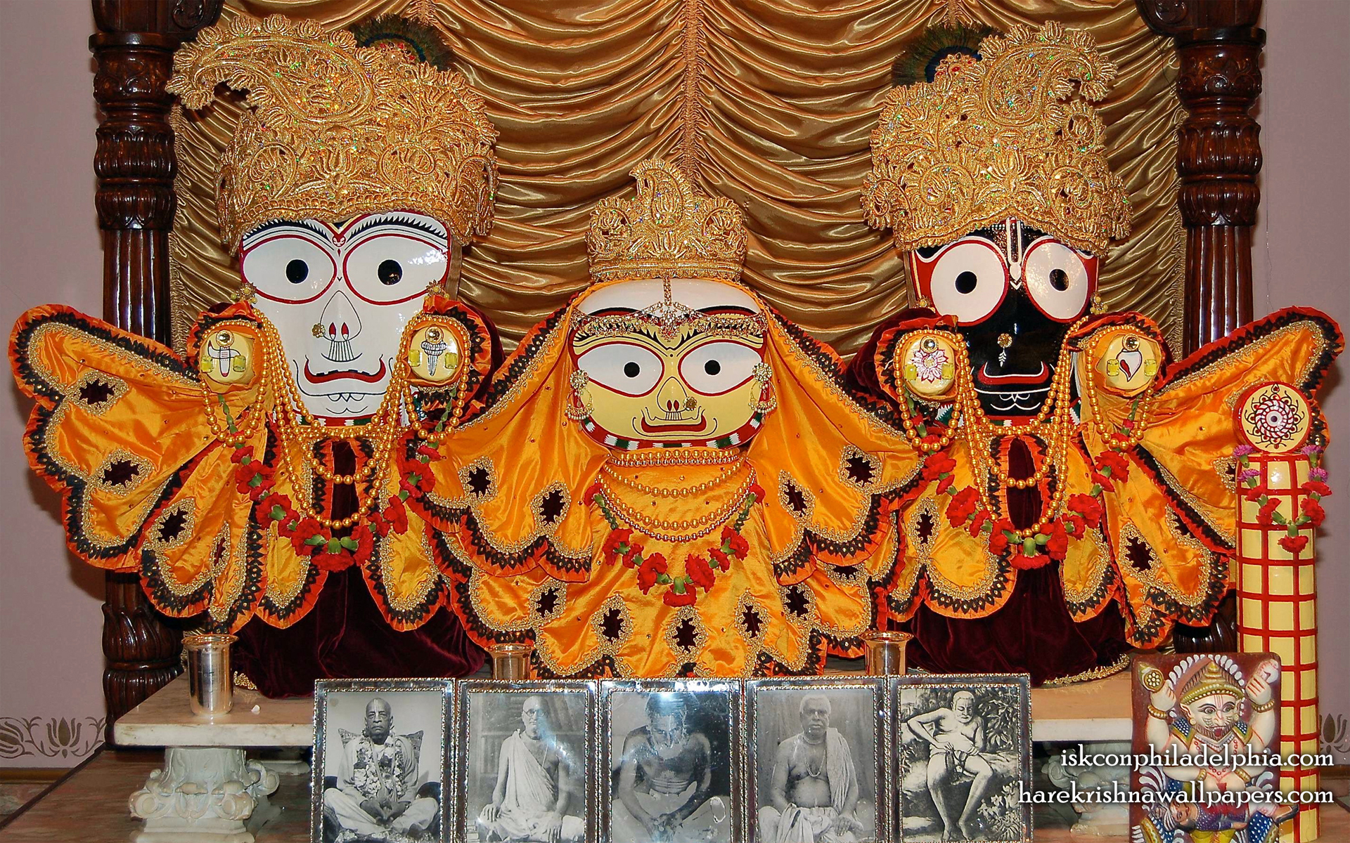 Jagannath Baladeva Subhadra Wallpaper (003) Size 1920x1200 Download