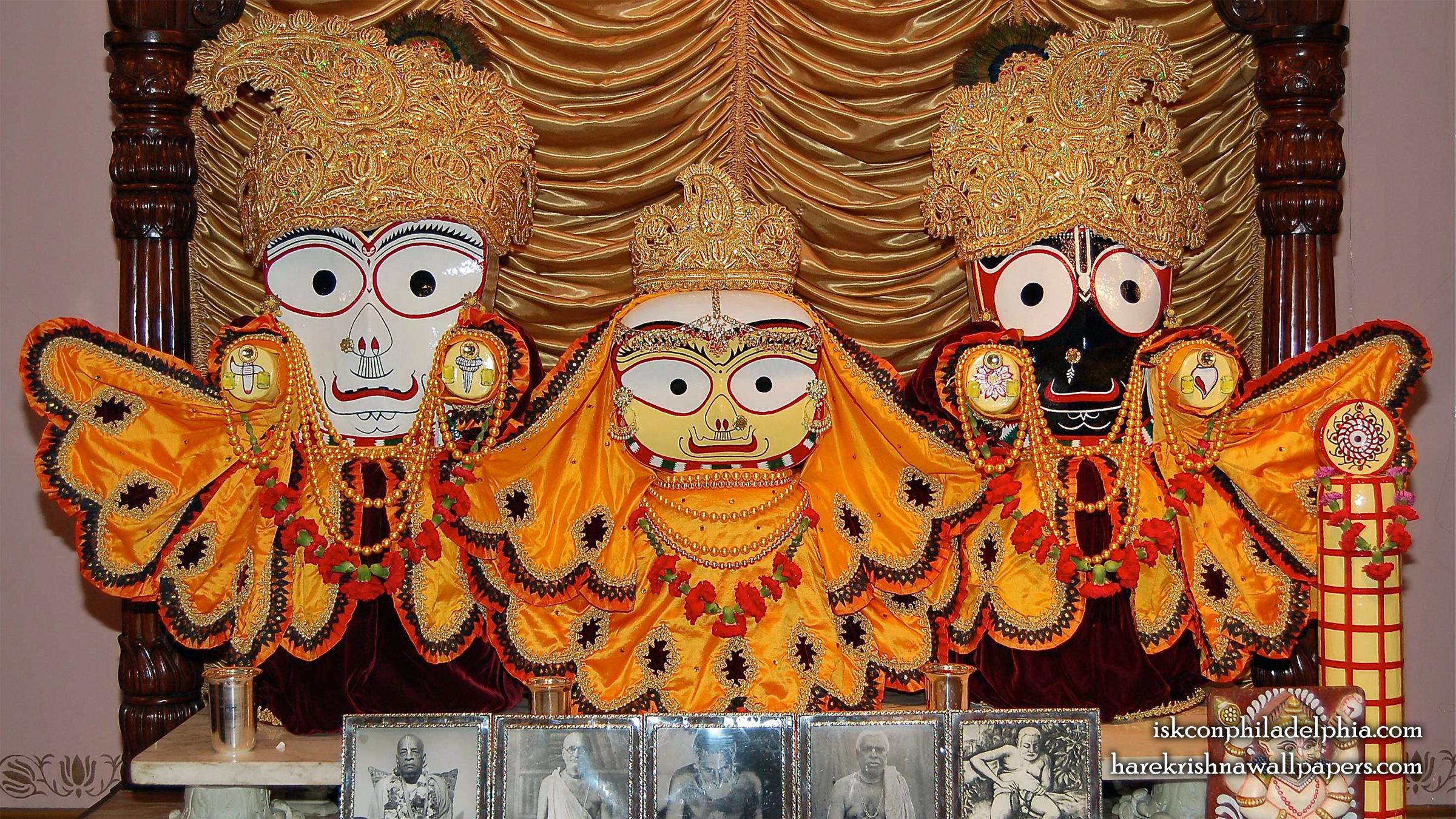 Jagannath Baladeva Subhadra Wallpaper (003) Size 2400x1350 Download