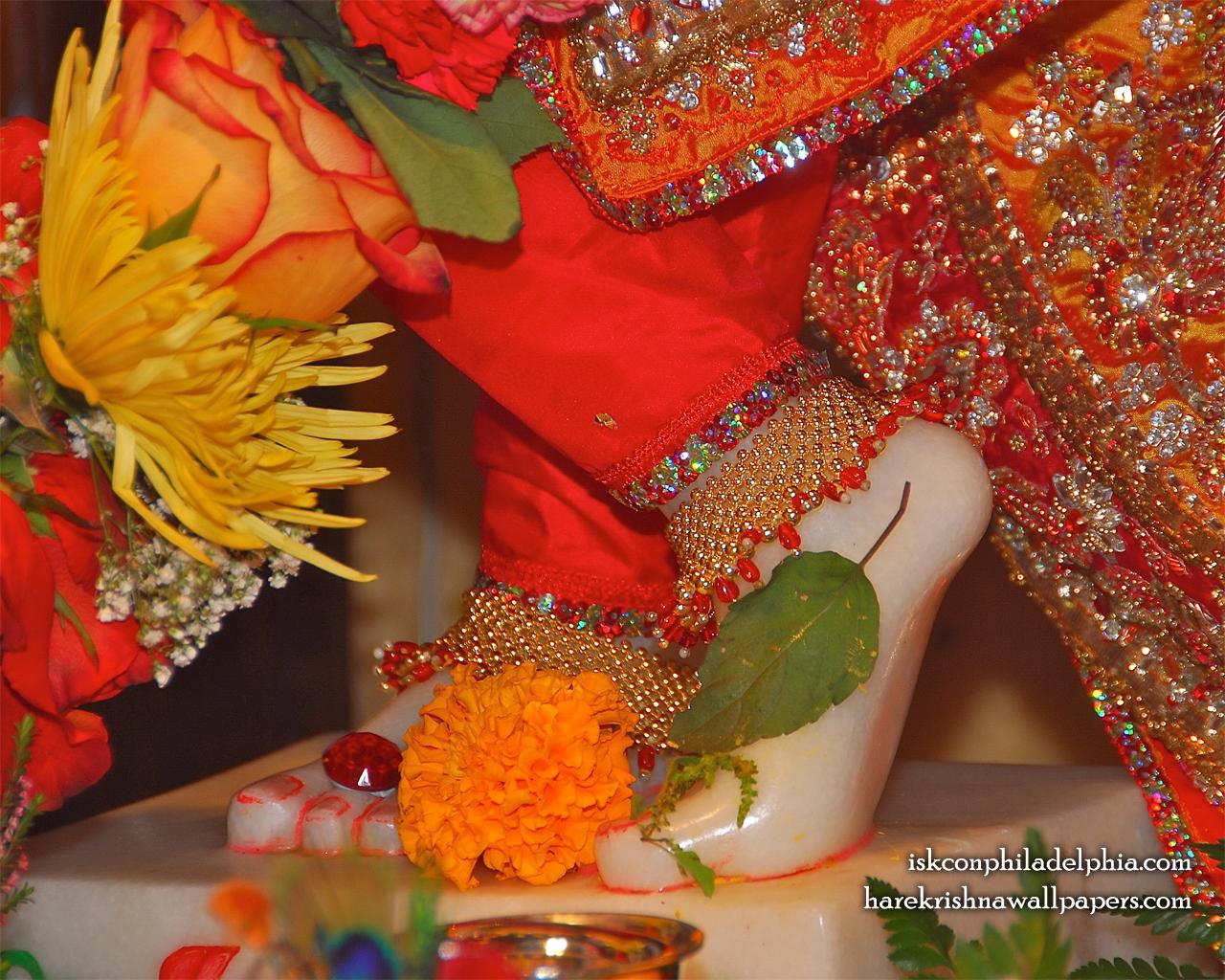 Sri Krishna Feet Wallpaper (003) Size 1280x1024 Download