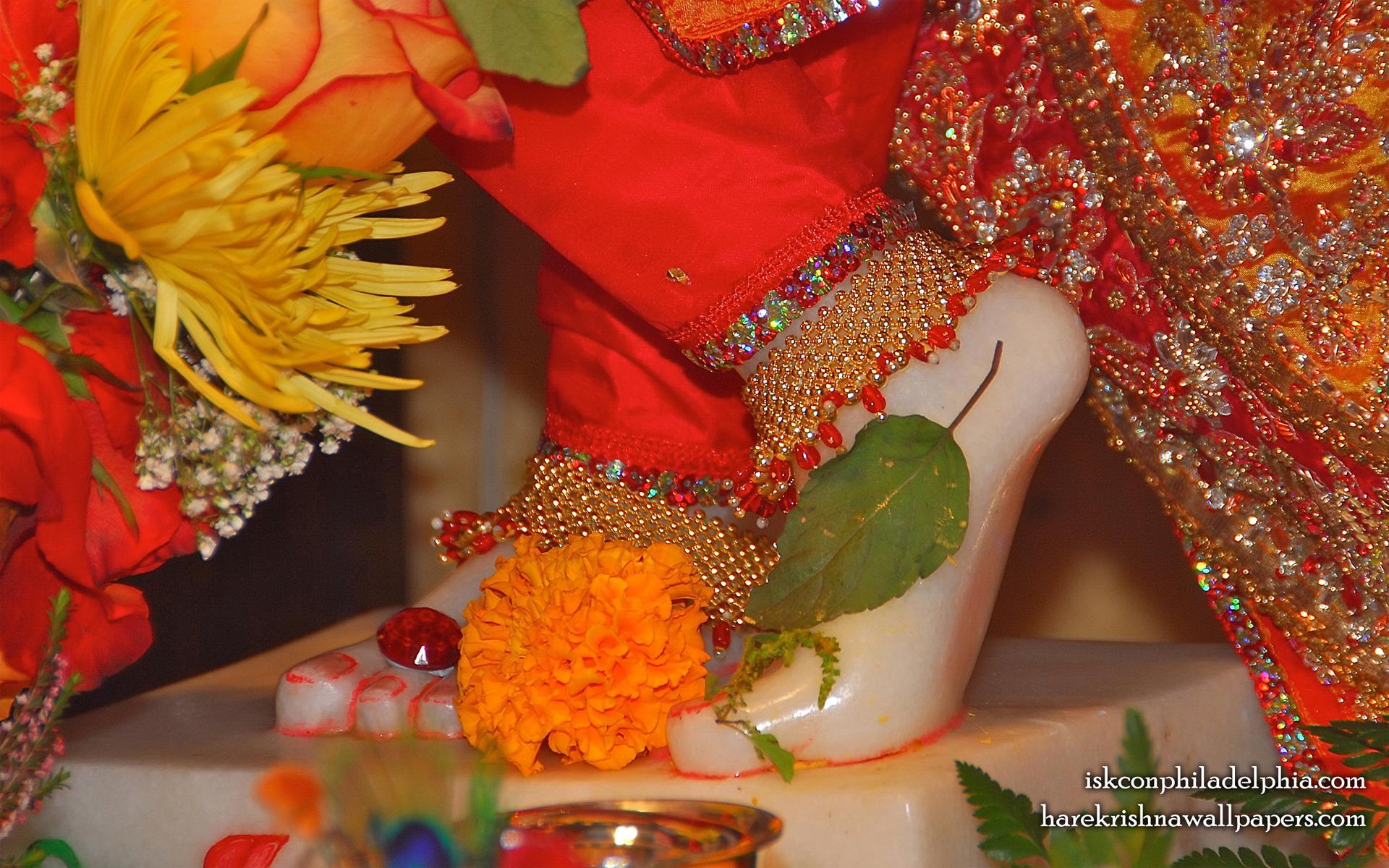 Sri Krishna Feet Wallpaper (003) Size 1920x1200 Download