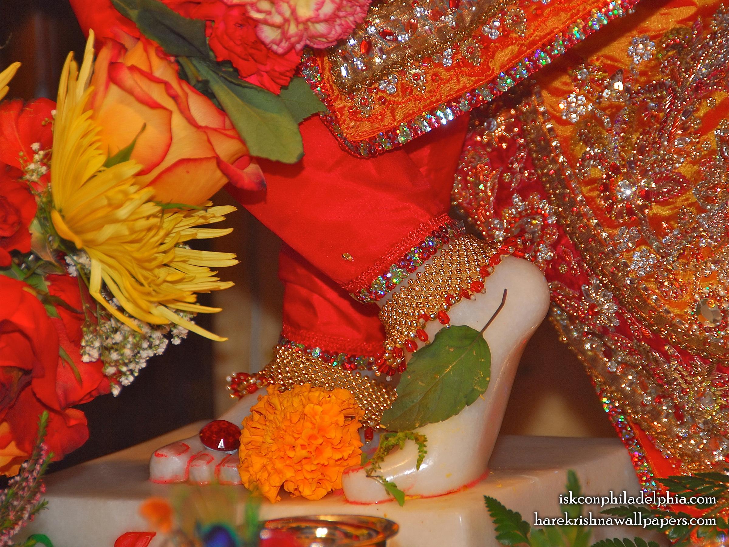 Sri Krishna Feet Wallpaper (003) Size 2400x1800 Download