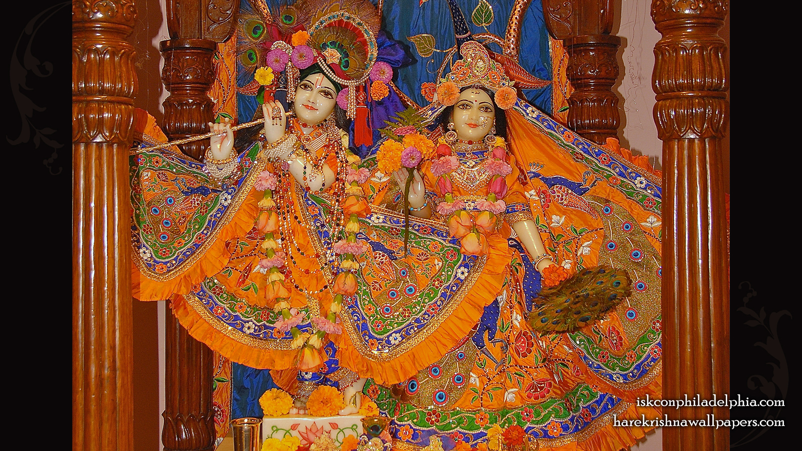 Sri Sri Radha Krishna Wallpaper (003) Size 1600x900 Download