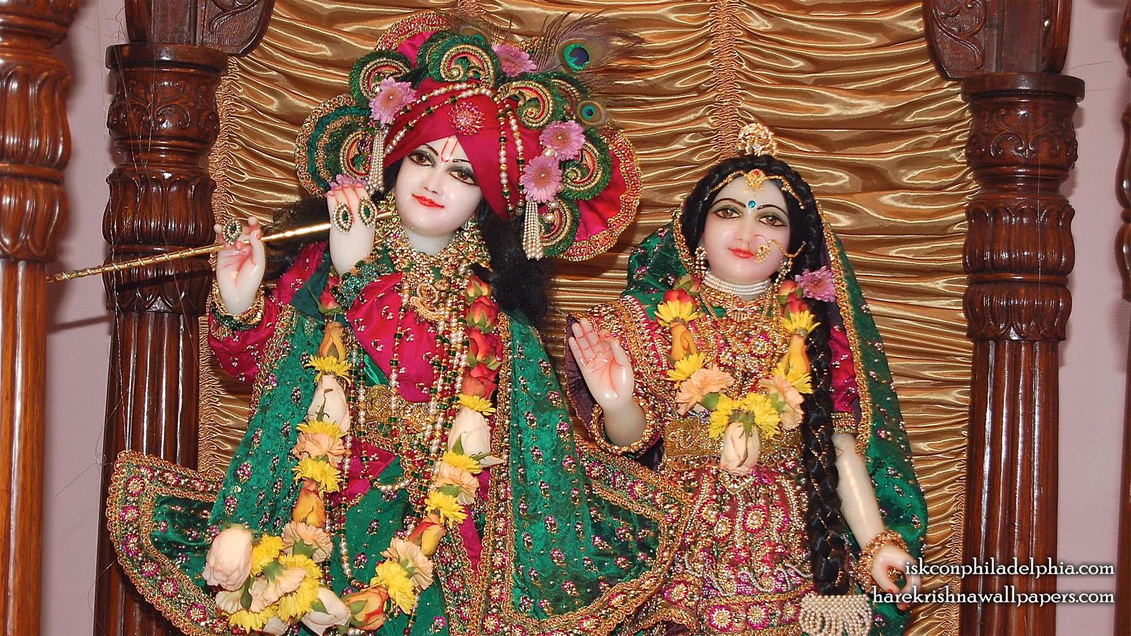 Sri Sri Radha Krishna Close up Wallpaper (003) Size 1600x900 Download