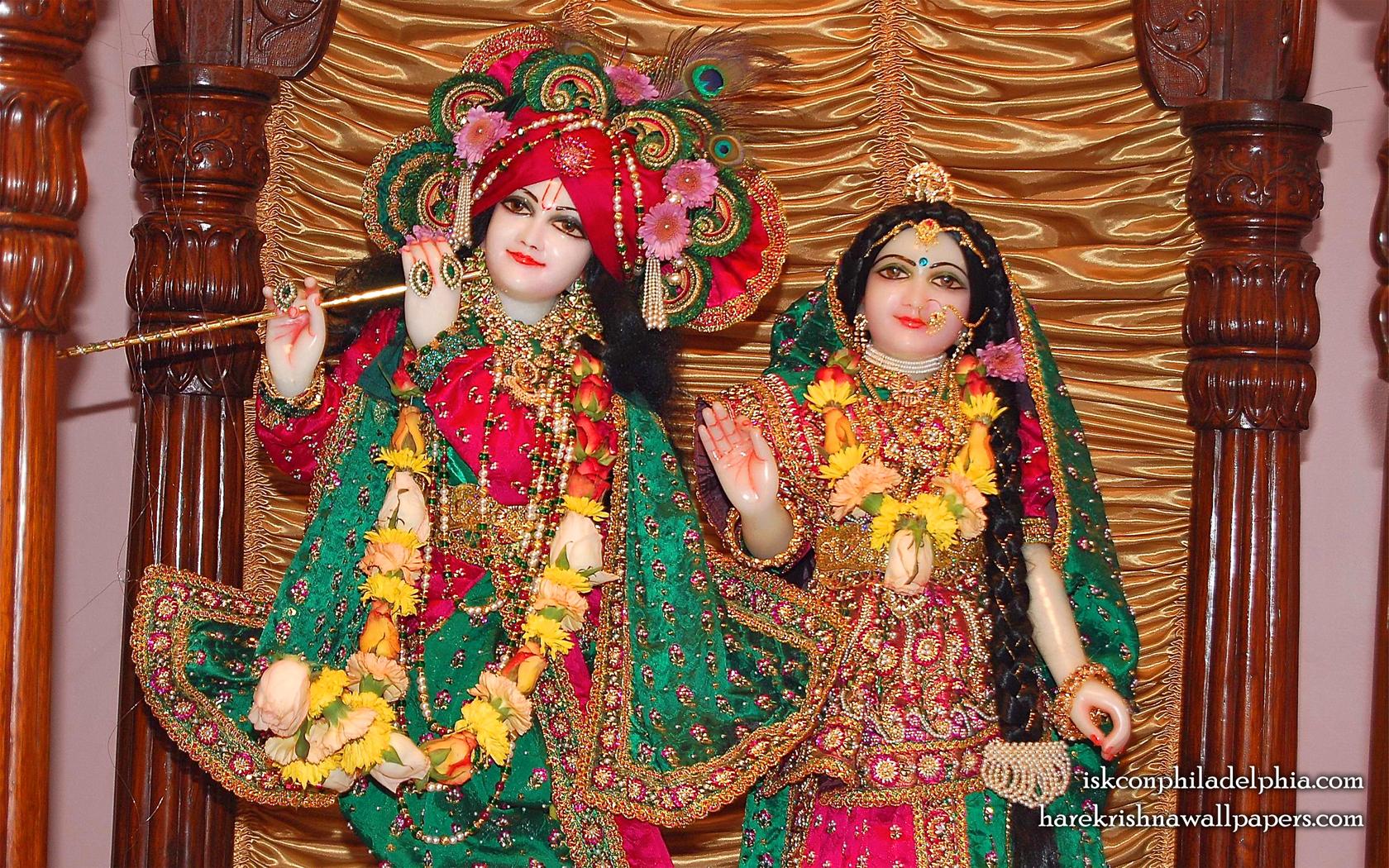 Sri Sri Radha Krishna Close up Wallpaper (003) Size 1680x1050 Download
