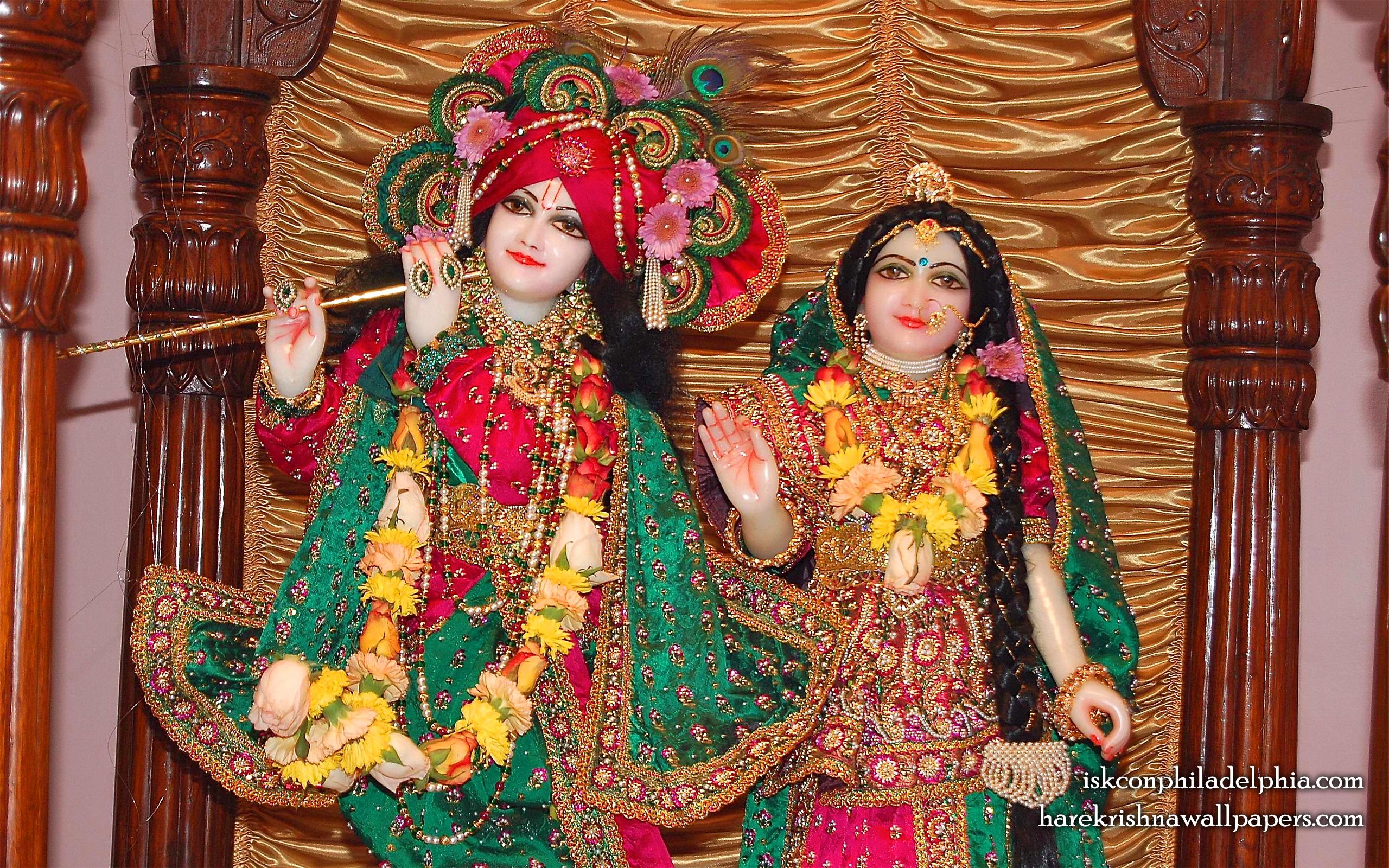 Sri Sri Radha Krishna Close up Wallpaper (003) Size 2560x1600 Download