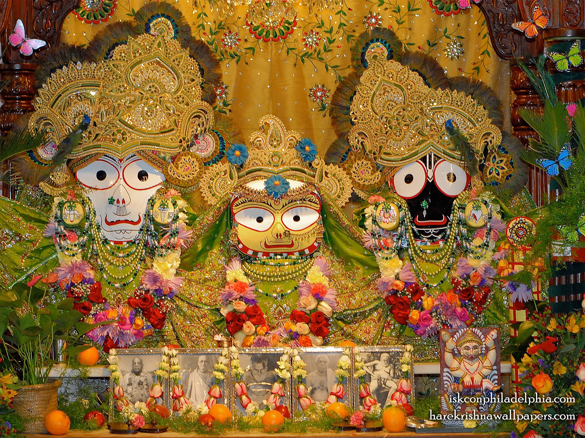 Jagannath Baladeva Subhadra Wallpaper (004) Size 1920x1440 Download