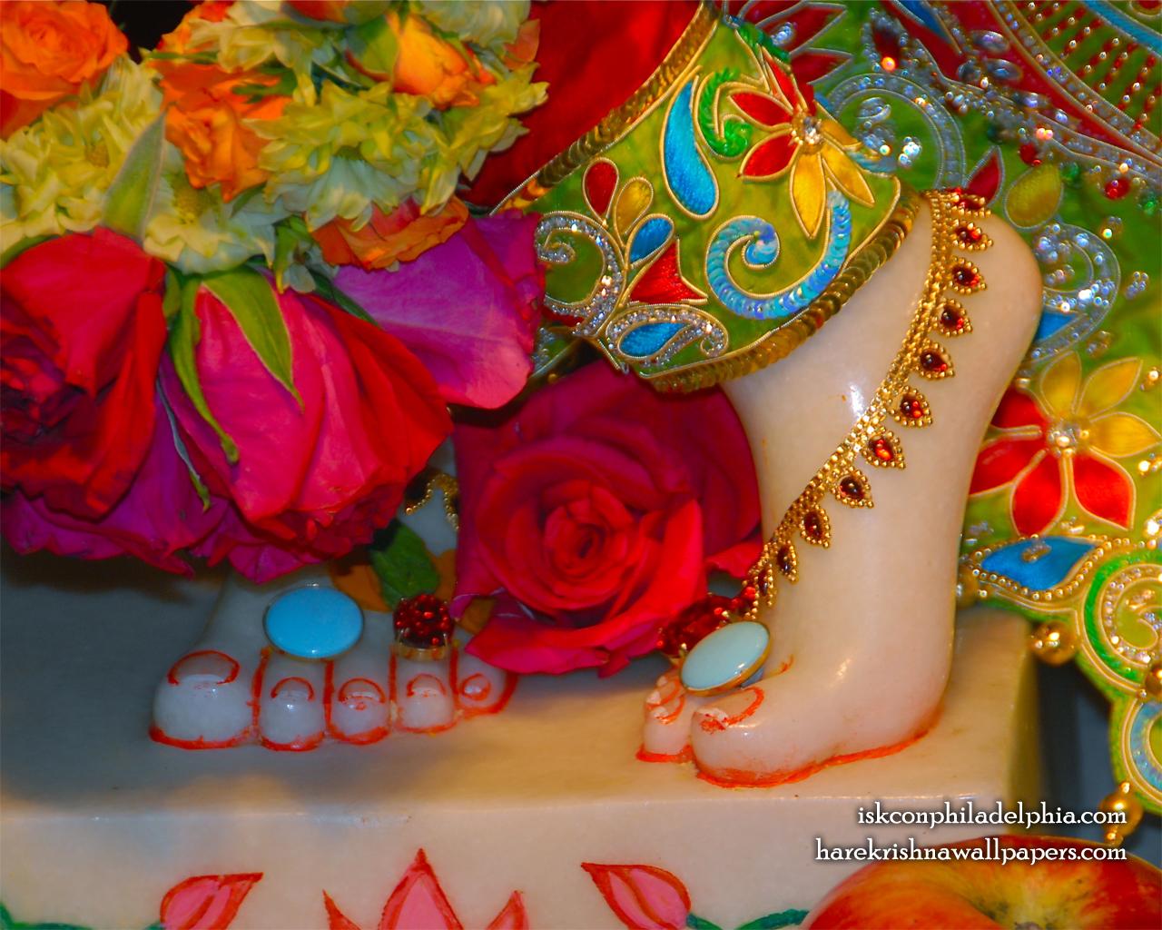 Sri Krishna Feet Wallpaper (004) Size 1280x1024 Download