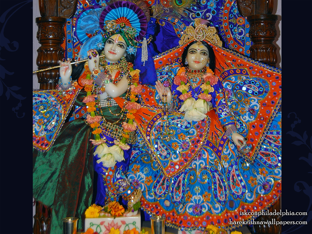 Sri Sri Radha Krishna Wallpaper (004) Size 1024x768 Download