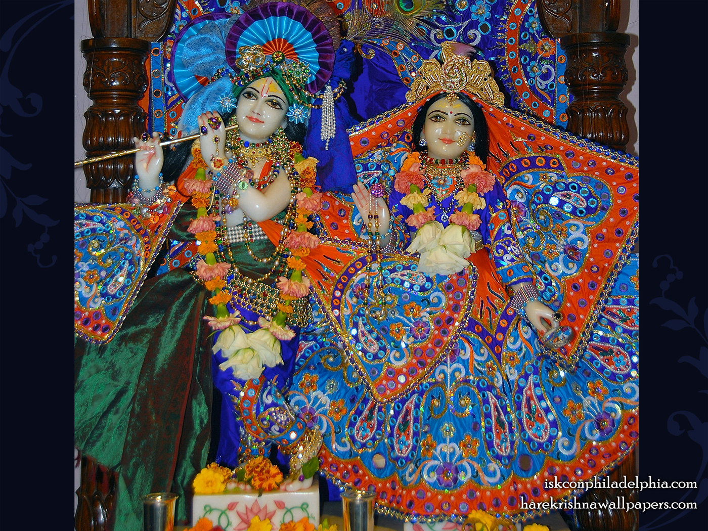 Sri Sri Radha Krishna Wallpaper (004) Size 1400x1050 Download