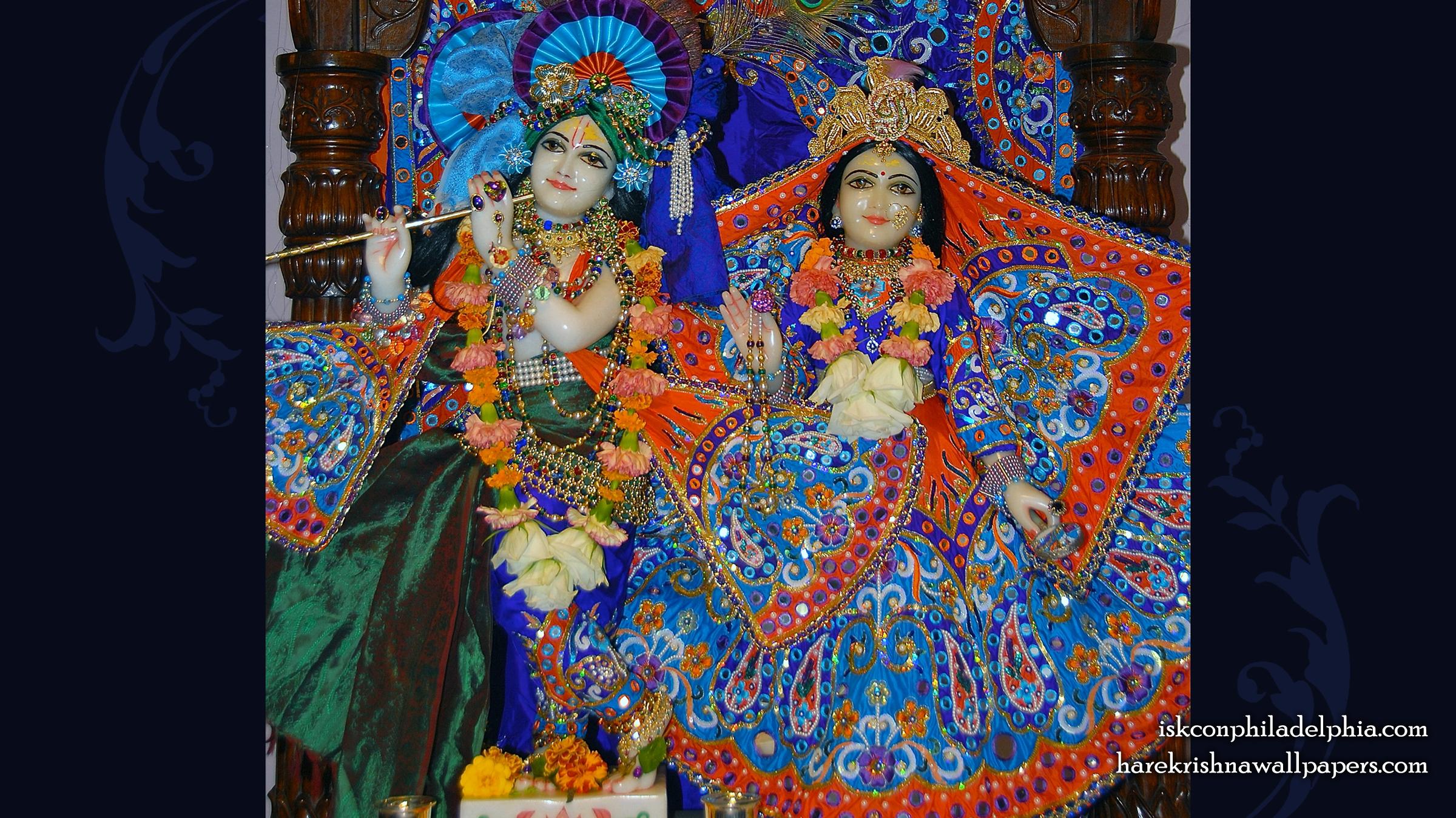 Sri Sri Radha Krishna Wallpaper (004) Size 2400x1350 Download