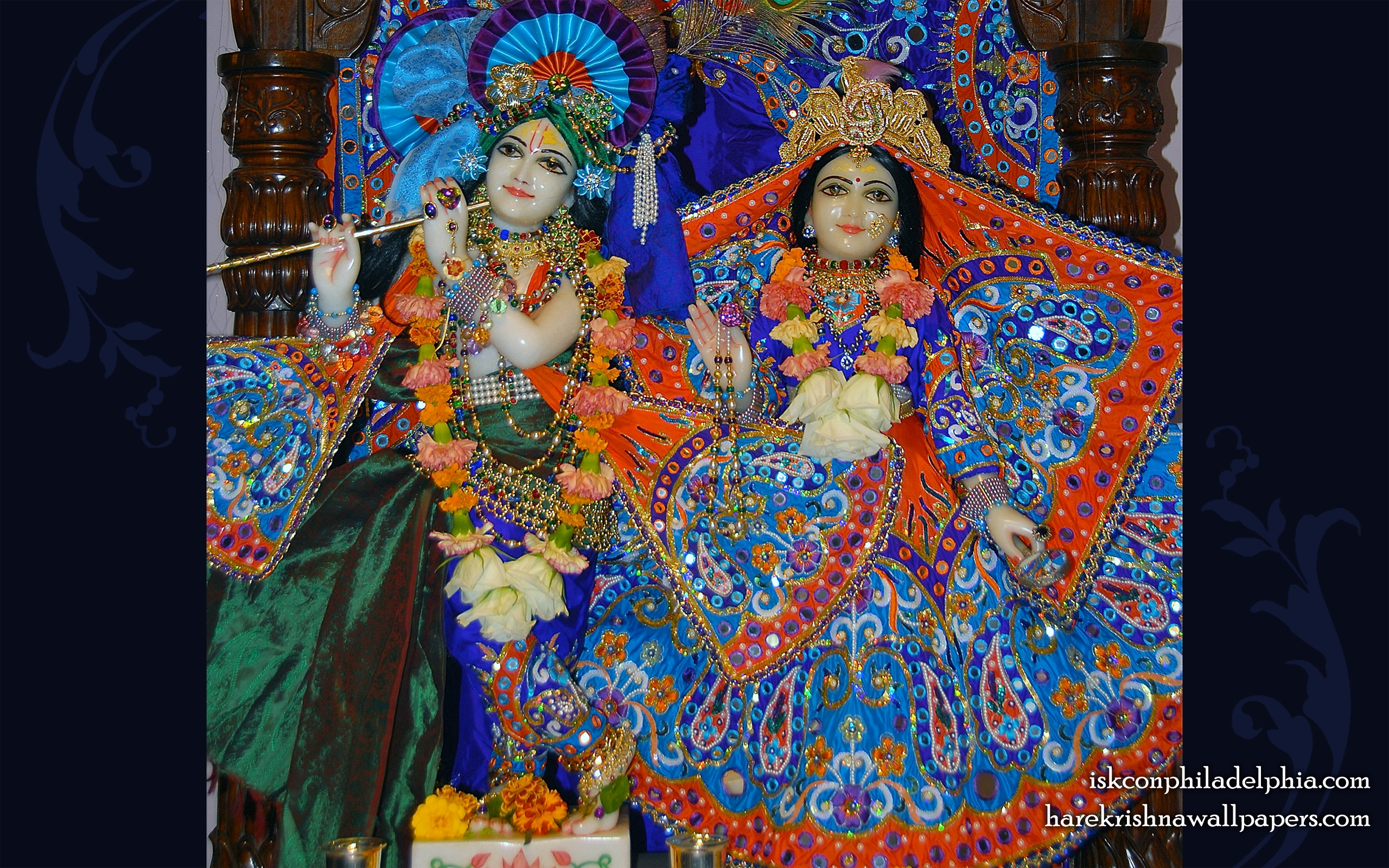 Sri Sri Radha Krishna Wallpaper (004) Size 2560x1600 Download