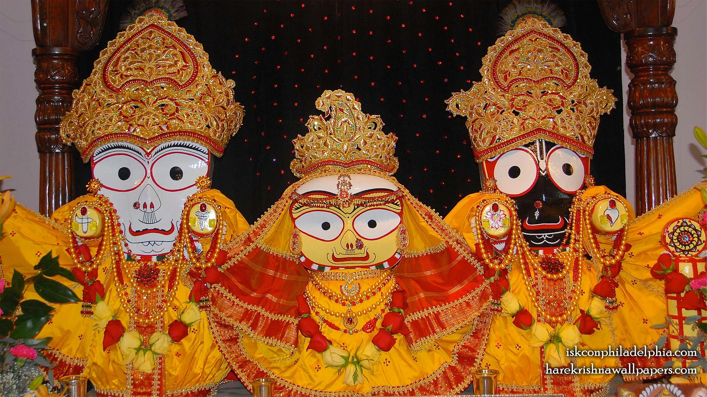 Jagannath Baladeva Subhadra Wallpaper (005) Size 2400x1350 Download
