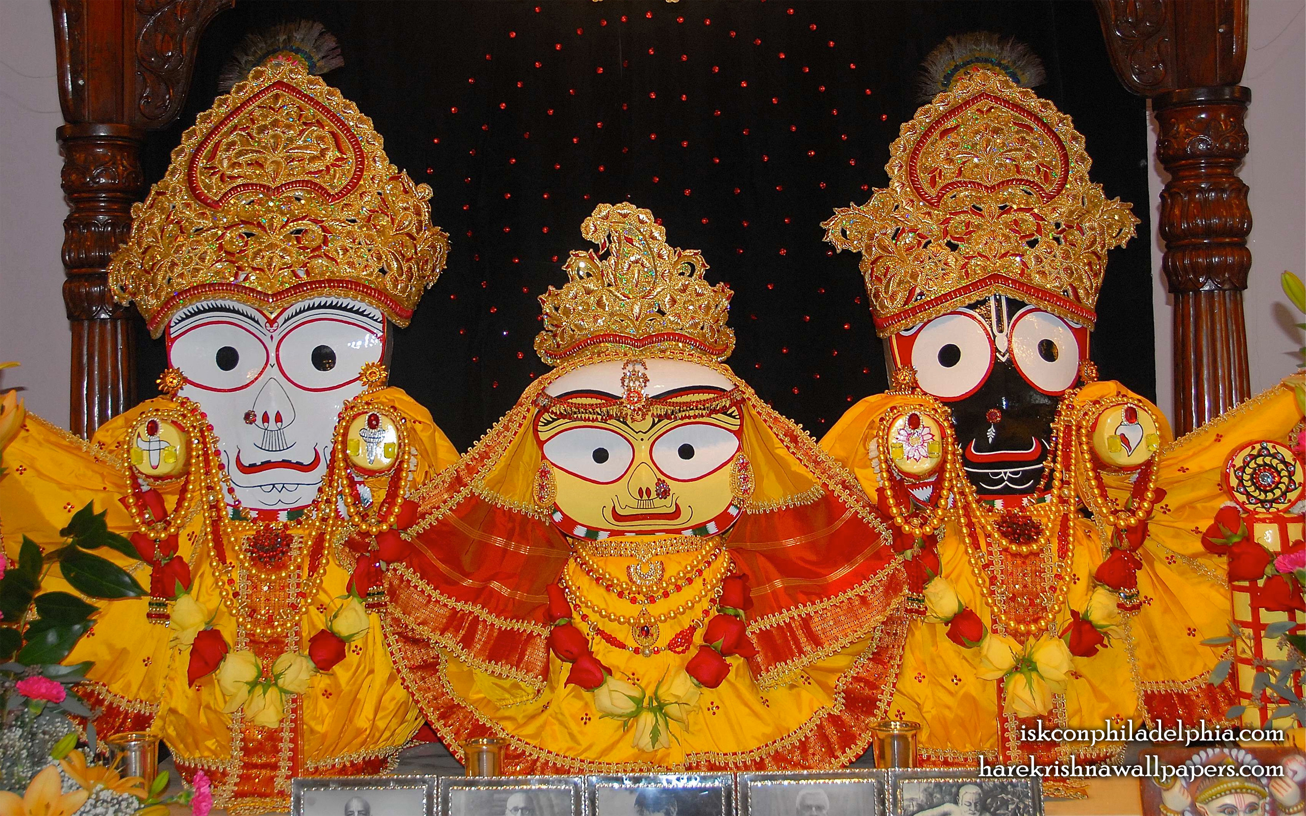 Jagannath Baladeva Subhadra Wallpaper (005) Size 2560x1600 Download